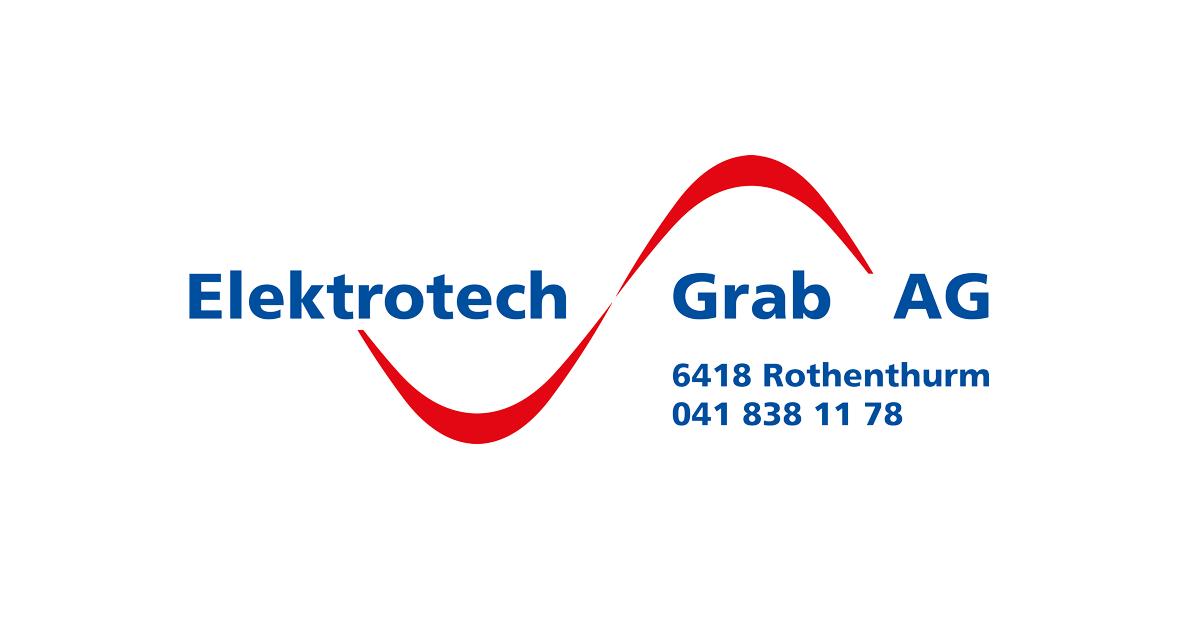 Das Logo unseres Partner der Elektrotech Grab AG