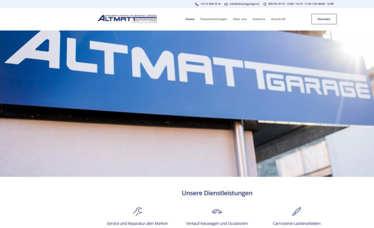 altmattgarage-rothenthurm-webseite