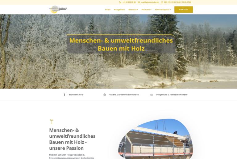 pius-schuler-ag-website