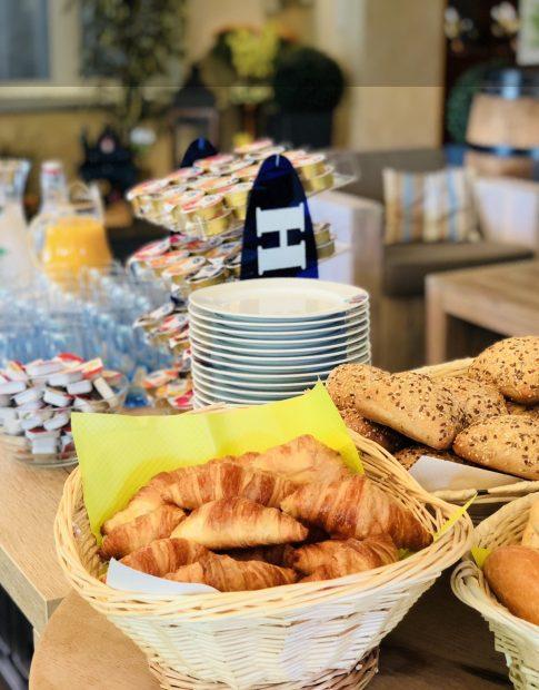 Das Frühstücksbuffet des Hotel Felmis