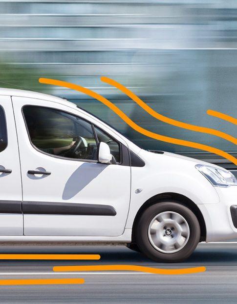 Die swissconnect ag transportiert Sendungen mit Erdgas-betriebenen Autos