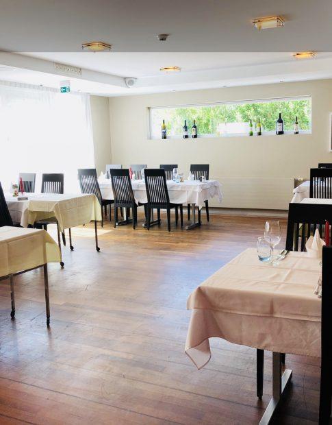 Das Restaurant des Hotel Felmis