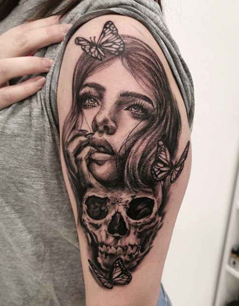 Ein Tattoo made by Denise Del Conte